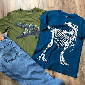 Boys Lot 10/12 T-Shirts and Jeans